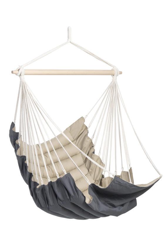 hamac chaise matelas taupe