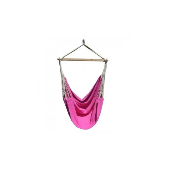 hamac-chaise-artisanal-rose
