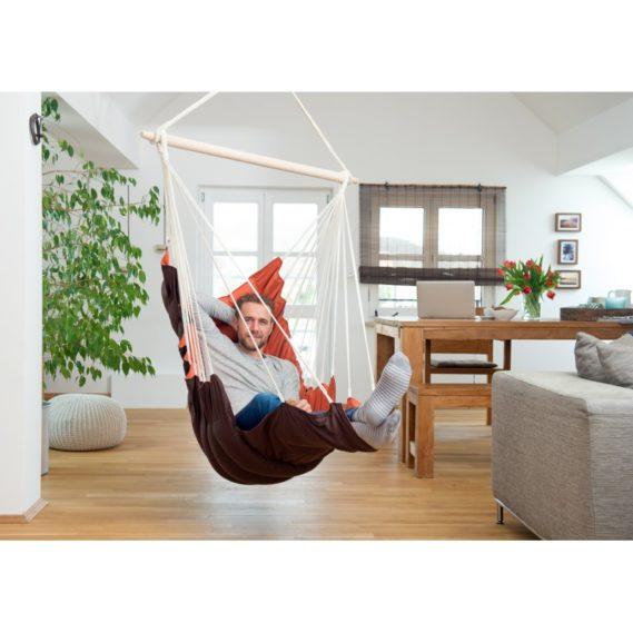 hamac-chaise-fauteuil-suspendu-grand-confort-orange