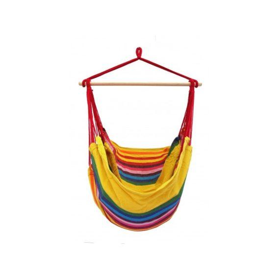 hamac chaise large jaune