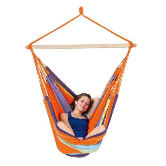 hamac-chaise-suspendu-orange