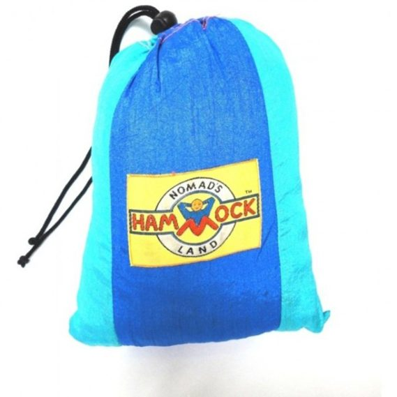 hamac parachute premium bleu