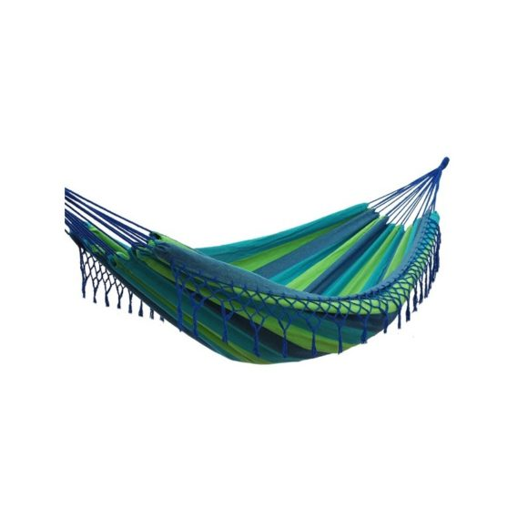 hamac-simple-franges-bleu vert