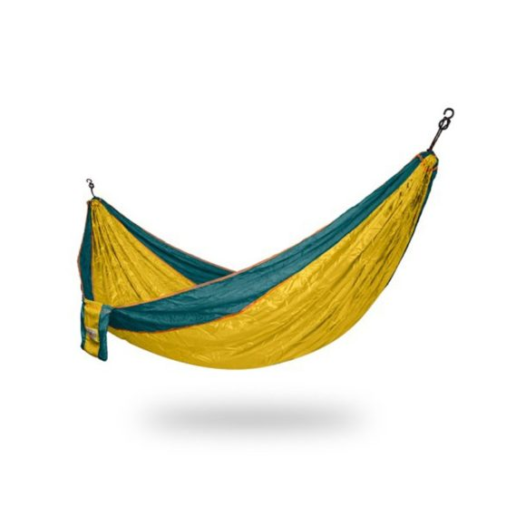 hamac-une place-hammock-simple-jaune vert