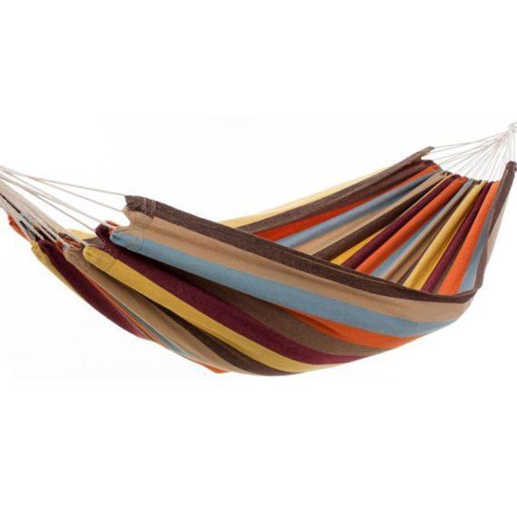 hamac-voyage-une place-marron