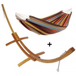set-hamac-support-meleze-double-marron