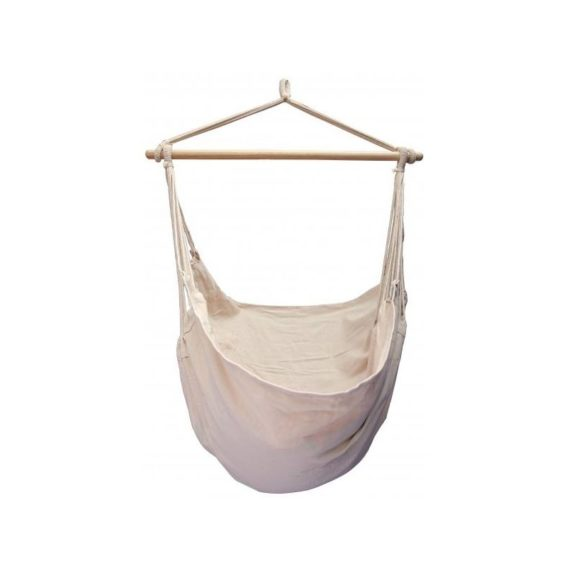 hamac chaise large blanc