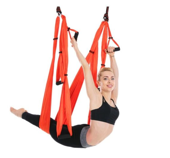 hamac plafond yoga