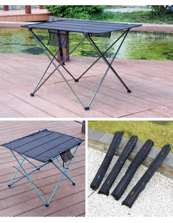petite table camping pliable