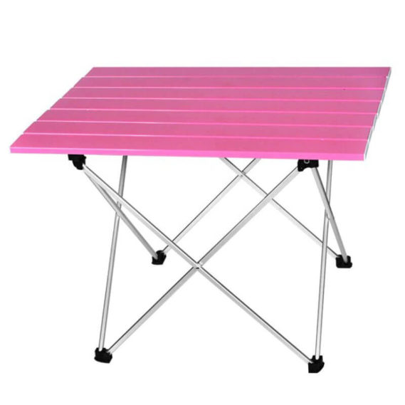 table camping pliable rose
